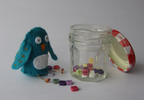 La Creature is making buttons preserves
