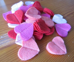 Pile of hearts!