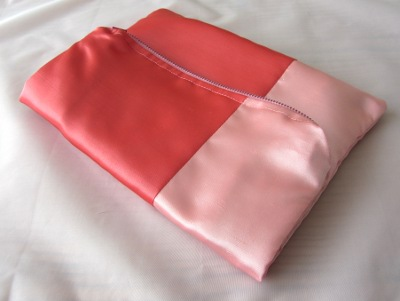 Fold Over Clutch tutorial flat view