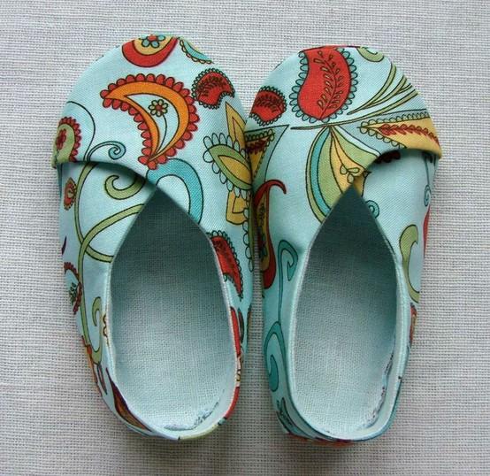 baby kimono shoes lenas pattern