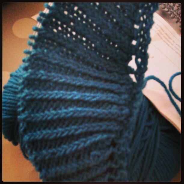 shawl-ribs