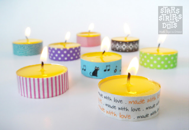 washi-tape-candle