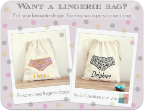 Thelma vs. Delphine – lingerie baggiveaway
