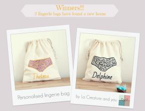 Thelma vs. Delphine – final score – giveawayresult
