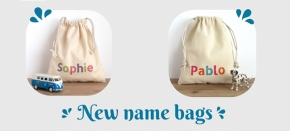 New name bags instock