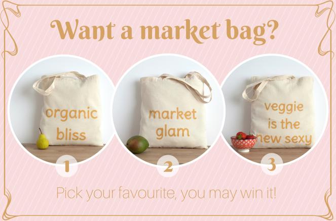 Want a market bag-